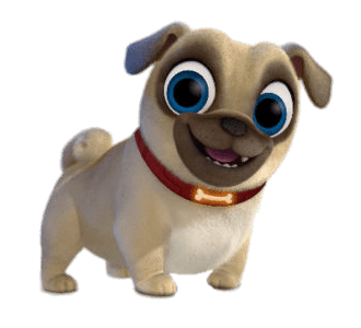 Puppy dog pals png. Rolly transparent stickpng