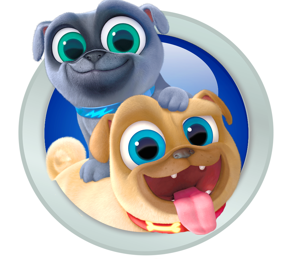 Puppy dog pals png. Image bingo and rolly