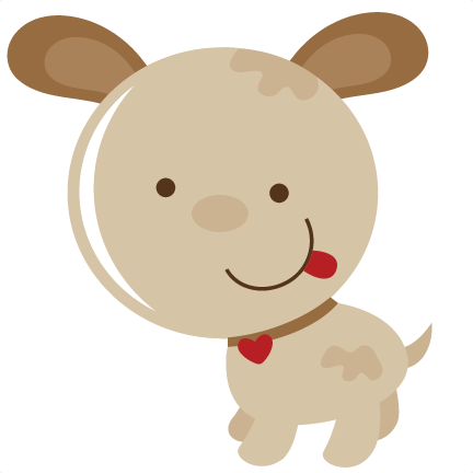 Puppy svg. Cute file for scrapbooking clip free library