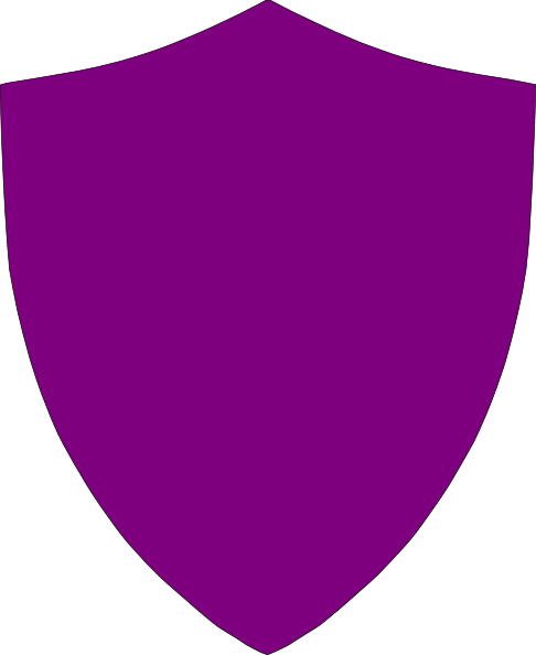 Purple shield clip art. Blank crest png graphic library download