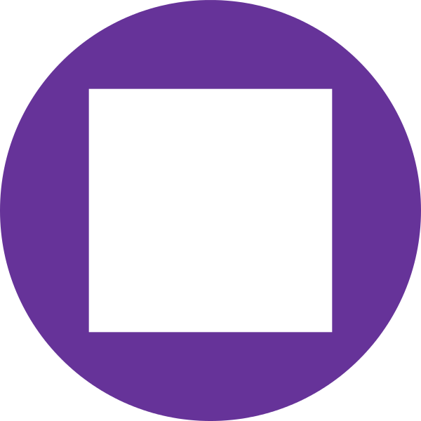 Purple background png. Archivo white square in
