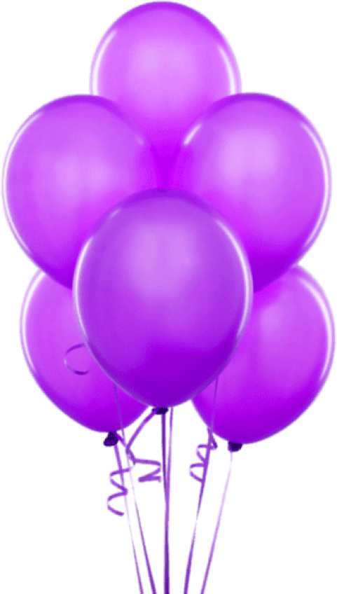Purple balloons png. Download transparent images background