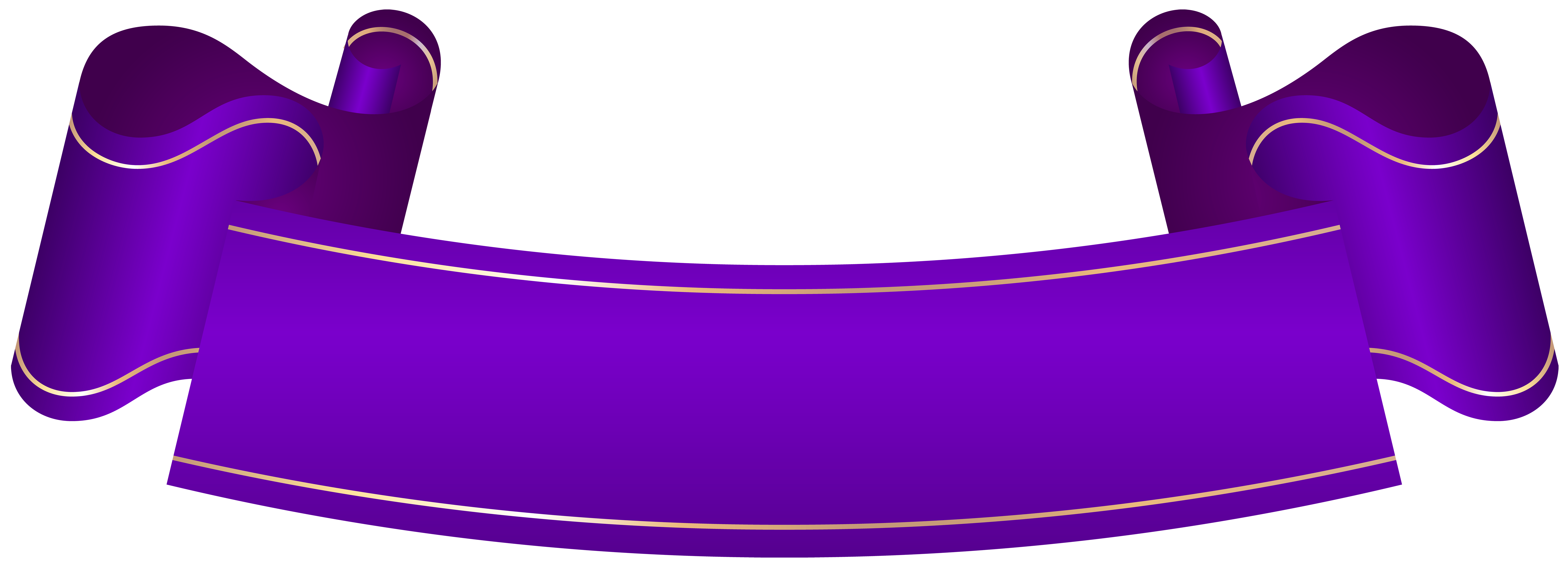 Purple banner png. Transparent clip art gallery