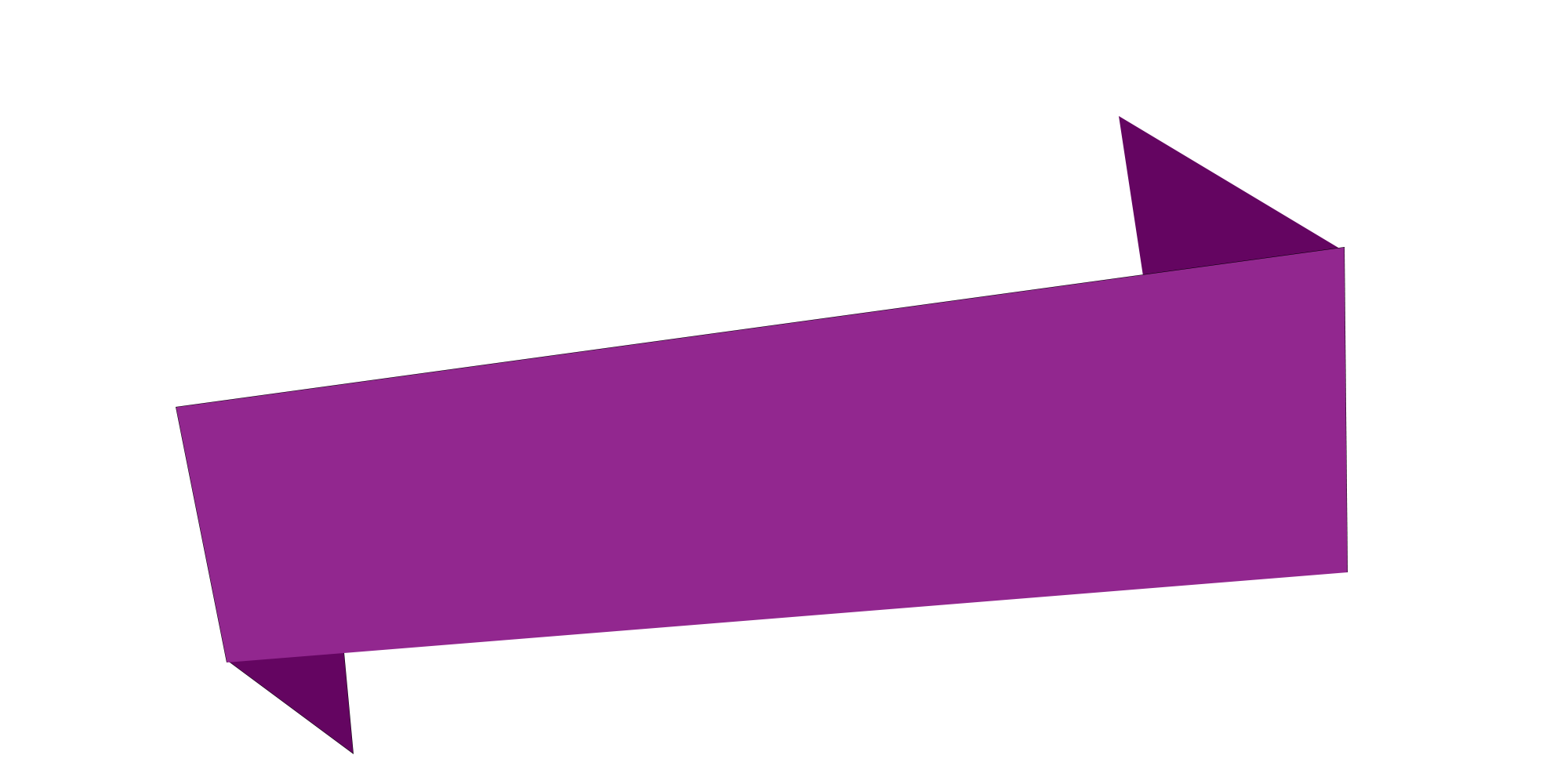 Purple triangle banner png. Ribbon free download