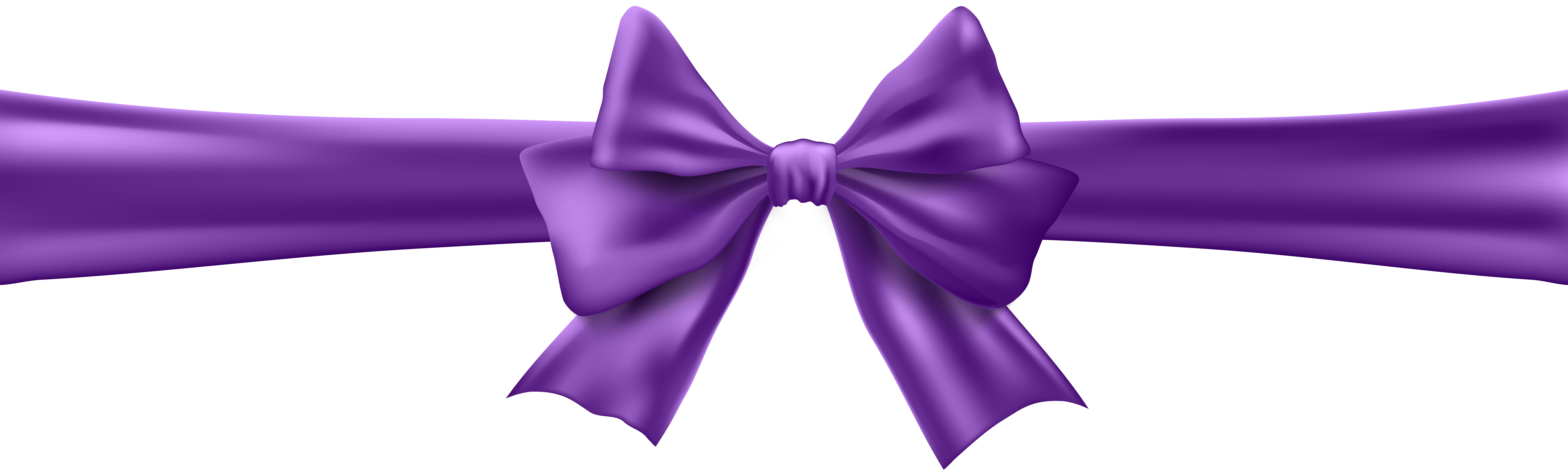 Purple bow png. With ribbon clip art