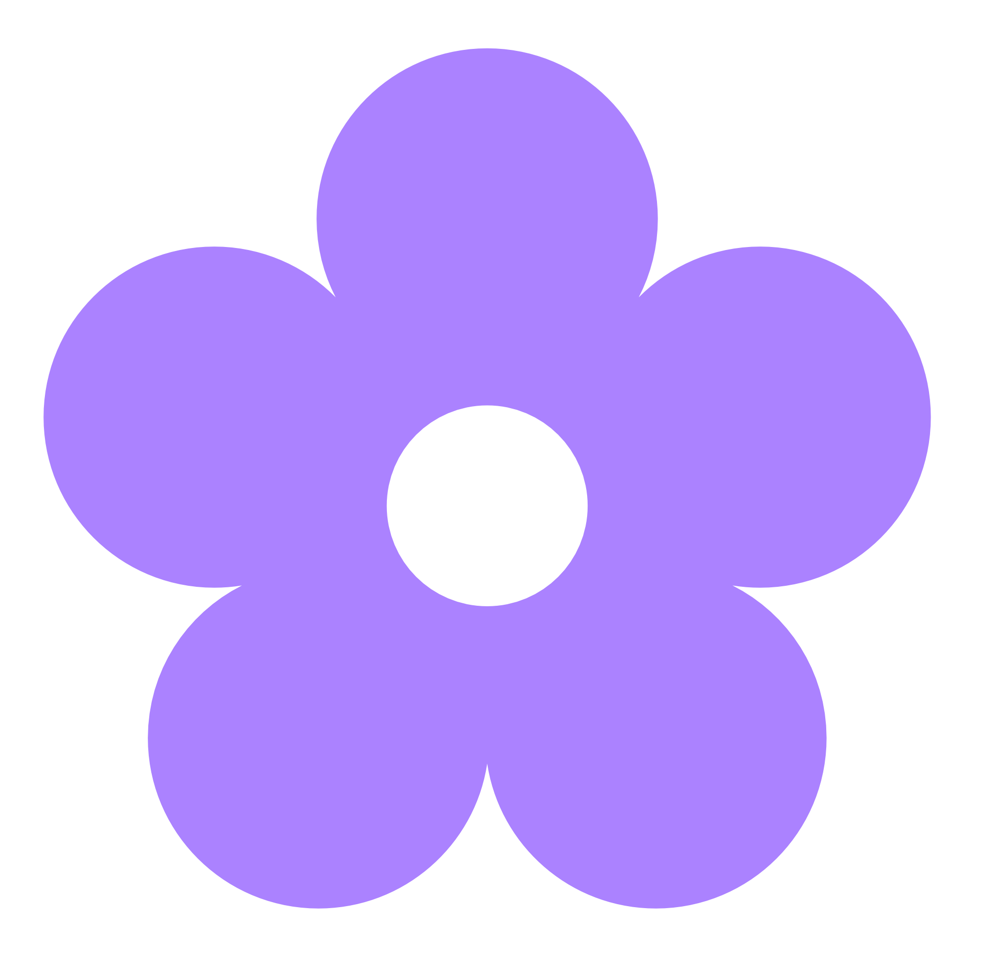 Flower png vector. Purple clipart