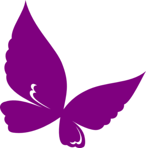 Mariposas vector butterfly. Pink and purple clipart