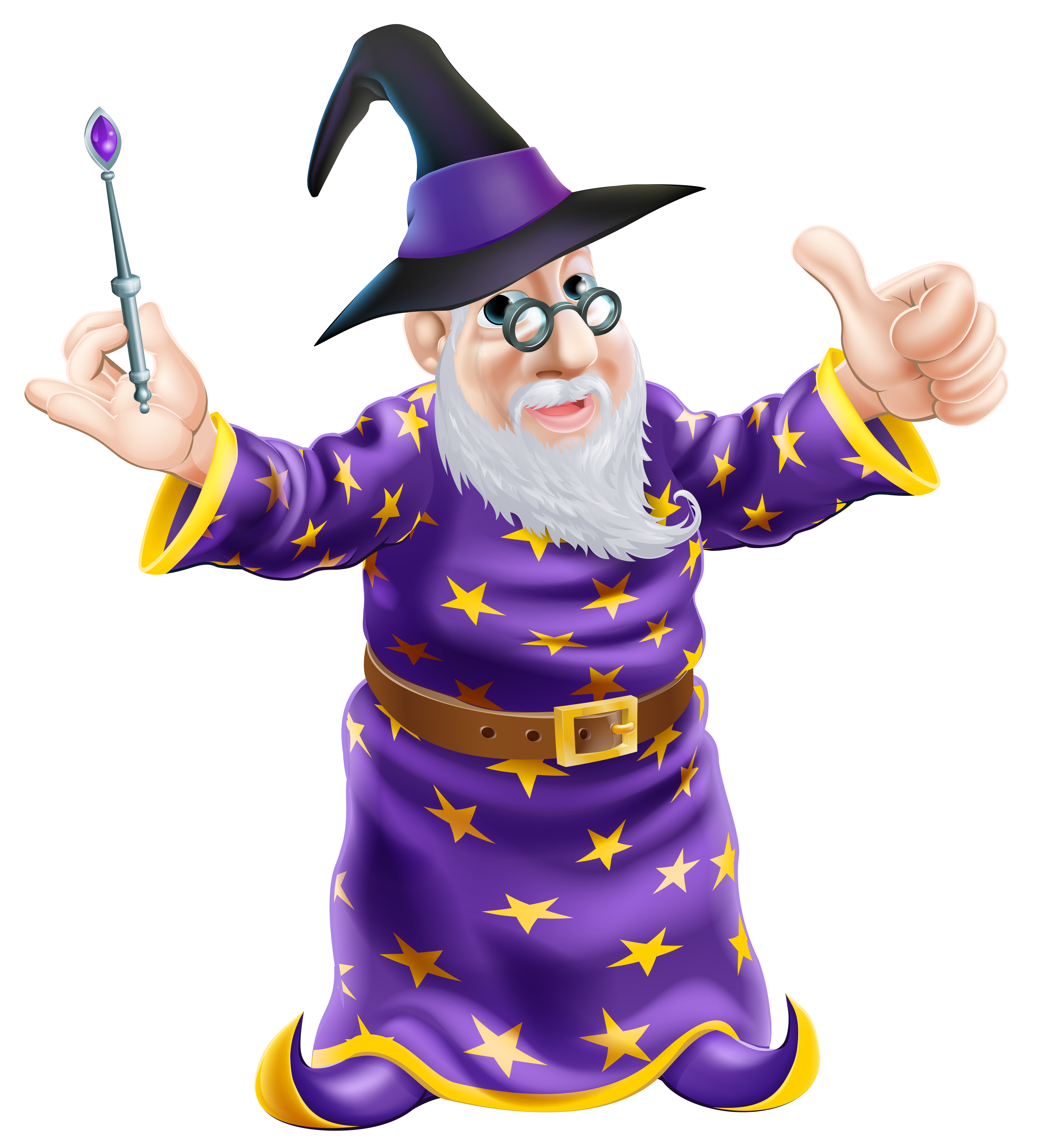 Wizard transparent