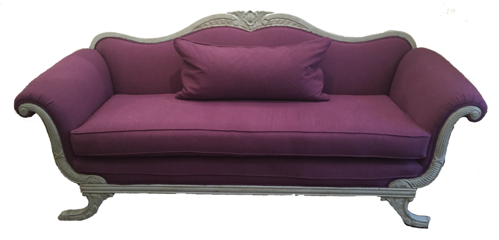 Purple couch png. About fairfax fabric company