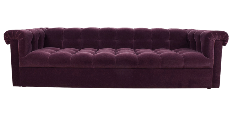 Purple couch png. Chesterfield sofa furniture online
