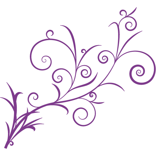 Purple design png. Pictorial material others