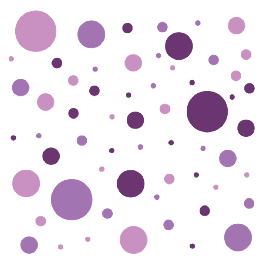 Purple dot png. Circle circles dots background