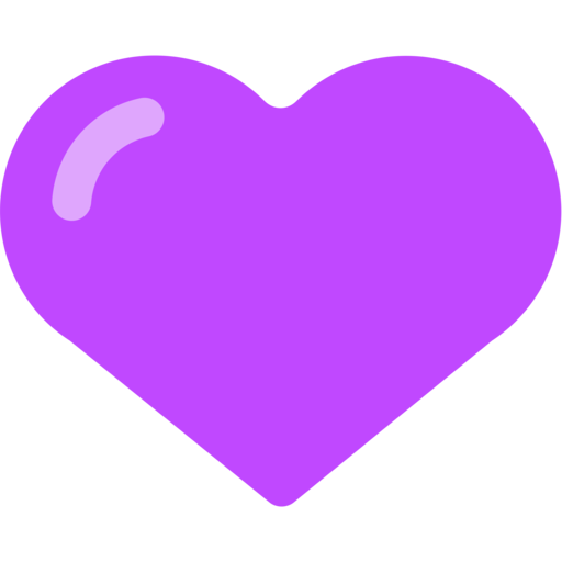 Purple emoji png. Heart april onthemarch co