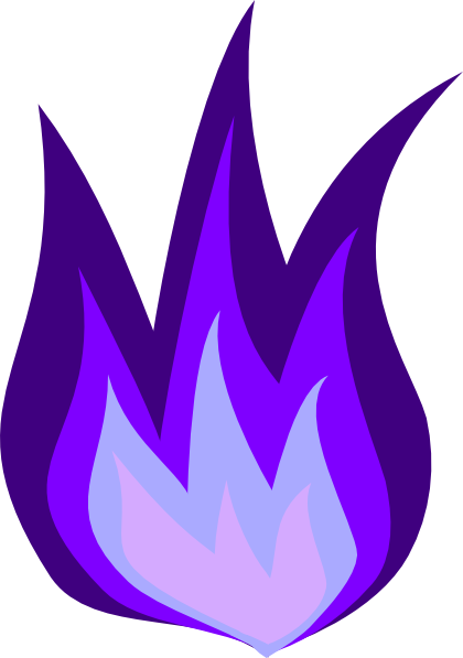 Animation vector fire. Purple png image