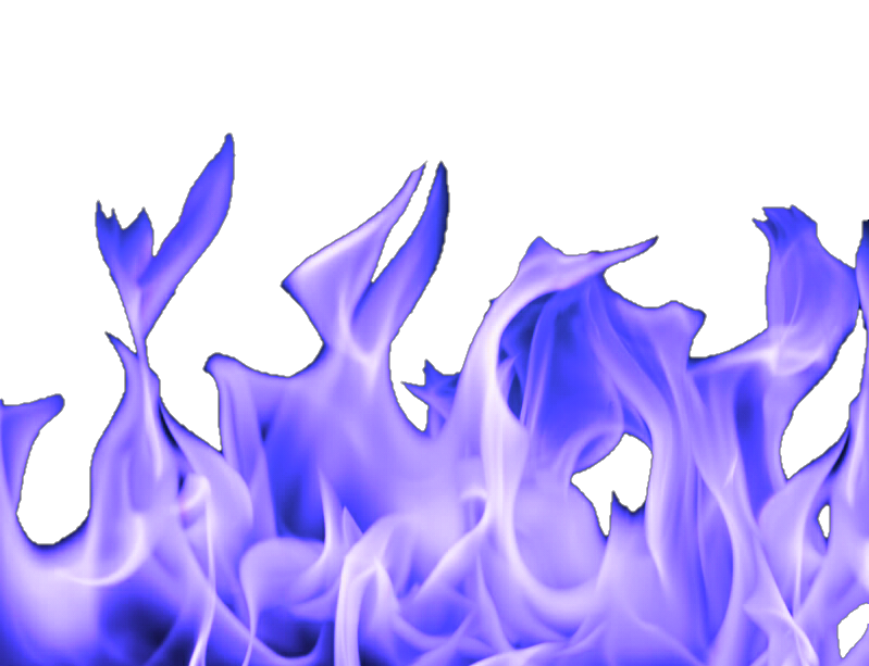 Purple flames png. Fire overlay remixit sticker