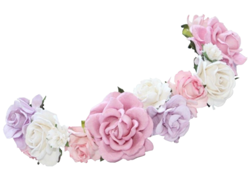 Purple flower crown png. Transparent google search my