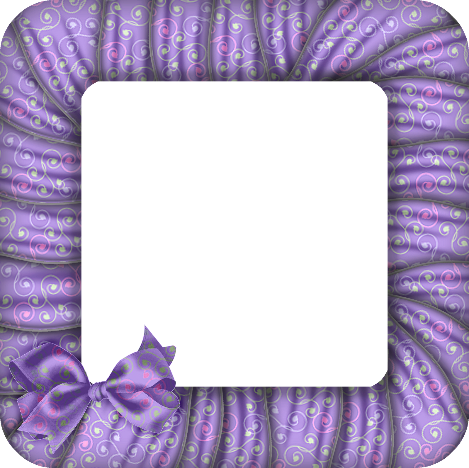 Purple frame png. Large transparent photo with
