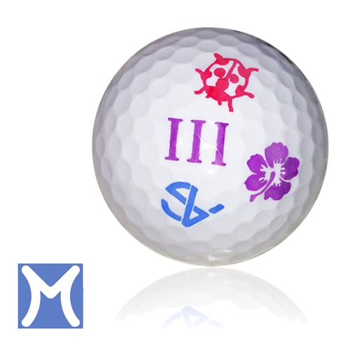 Purple golf ball png. Myballstamp personalized stamps stamp