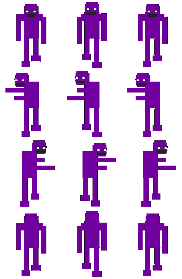 Purple ketchup png. Fnaf guy rpg maker