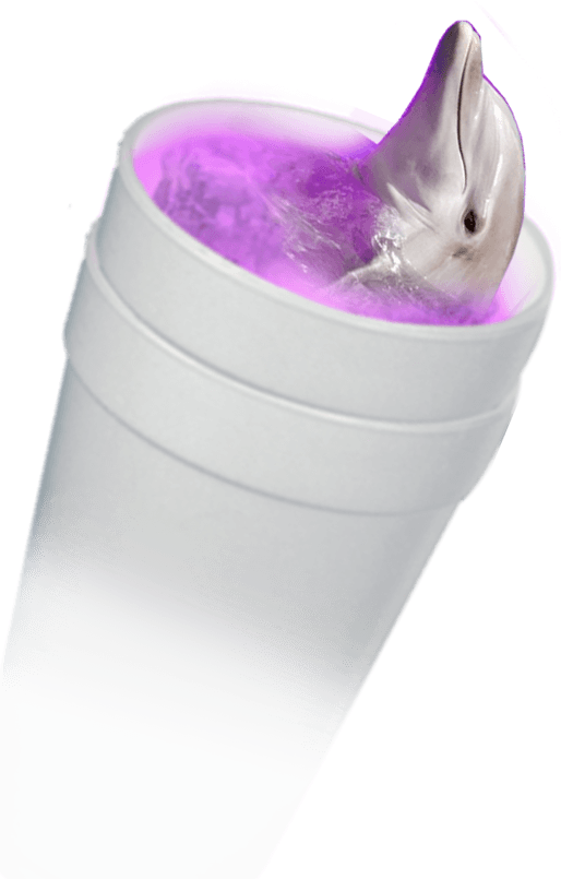 Purple lean png. V a p o