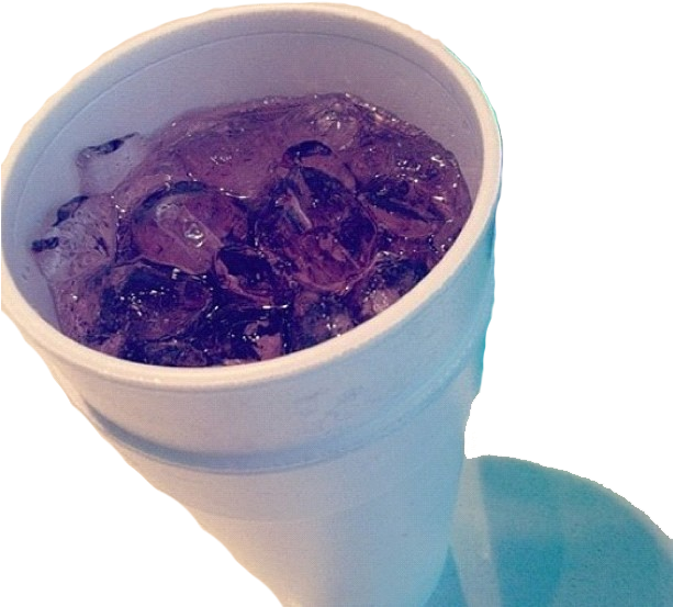 Purple lean png. Download cups drank transparent