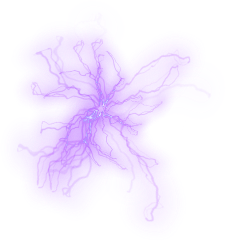 Purple lightning png. Electric freetoedit