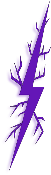 Lightning bolt clipart purple. Deep clip art at