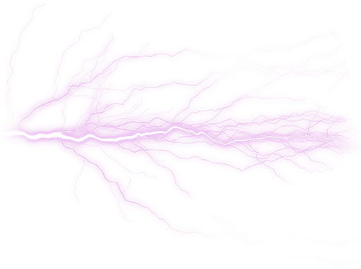 Lightning svg neon purple