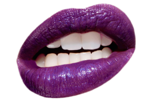 Purple lips png. Submission transparent blog transparalyze