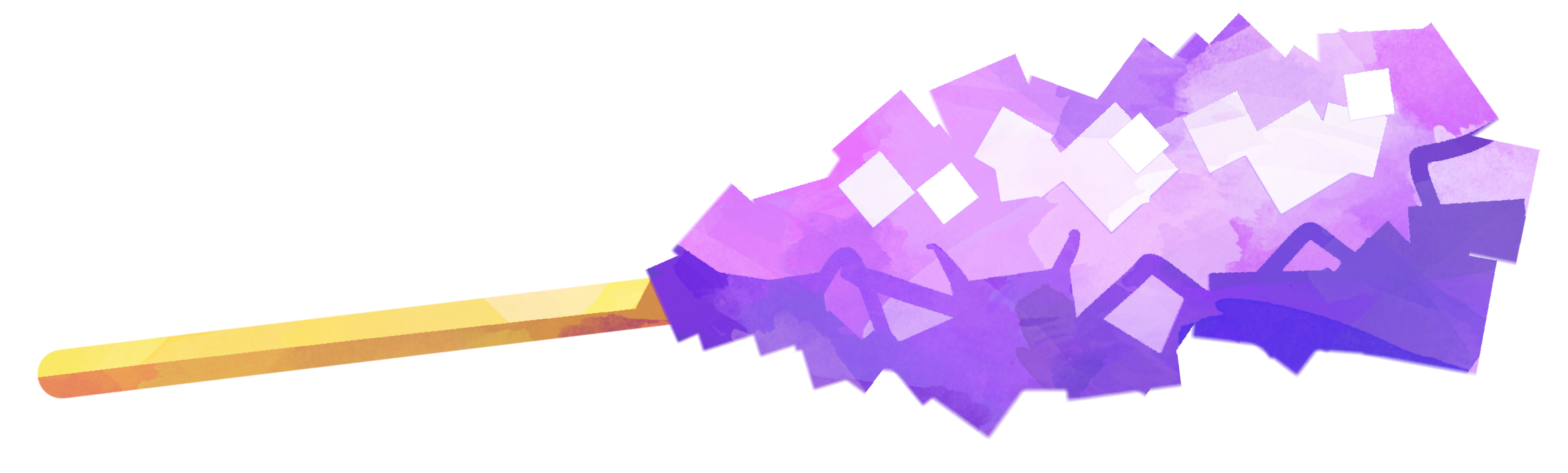 Purple rock candy png