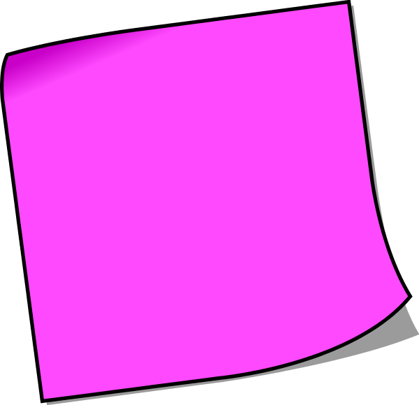 Purple sticky note png. Collection of clipart