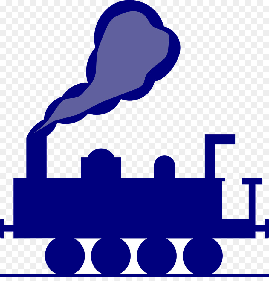 Purple train. Cartoon clipart transport blue