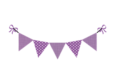 Purple triangle banner png. Free pennant hd transparent