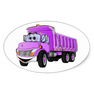 Violet truck. Free purple cliparts download