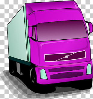 Purple truck. Cliparts png for