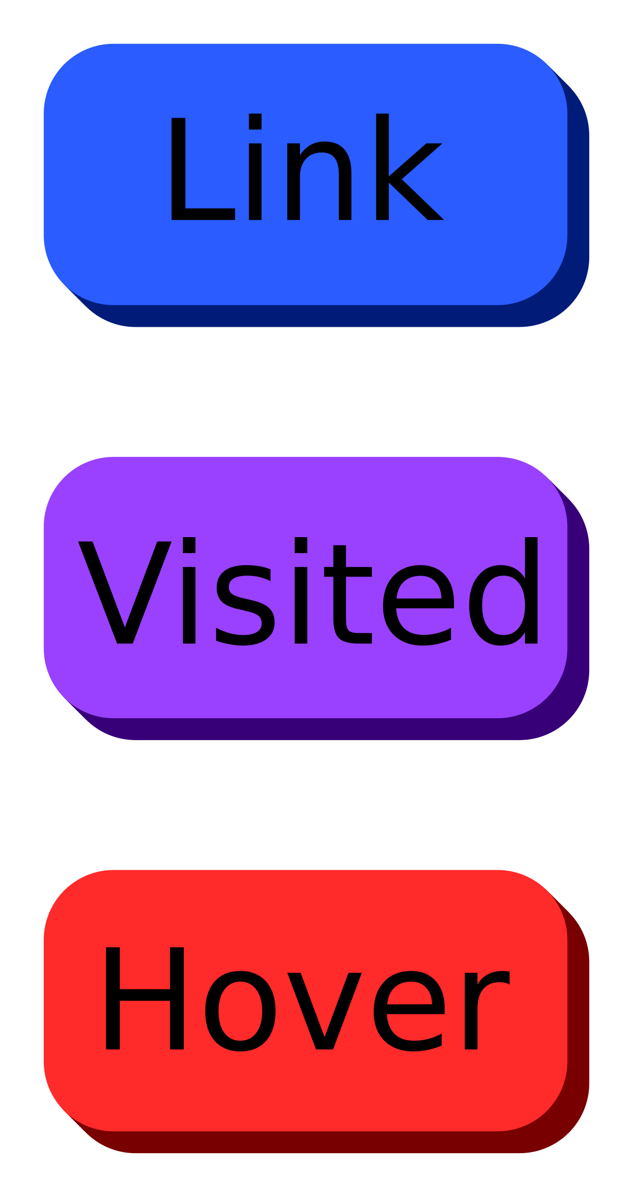Purple web buttons png. With text icons free