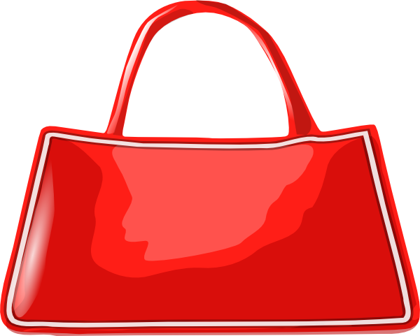 Red purse png. Handbag clip art at