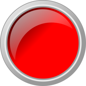Push clip. Red button clipart