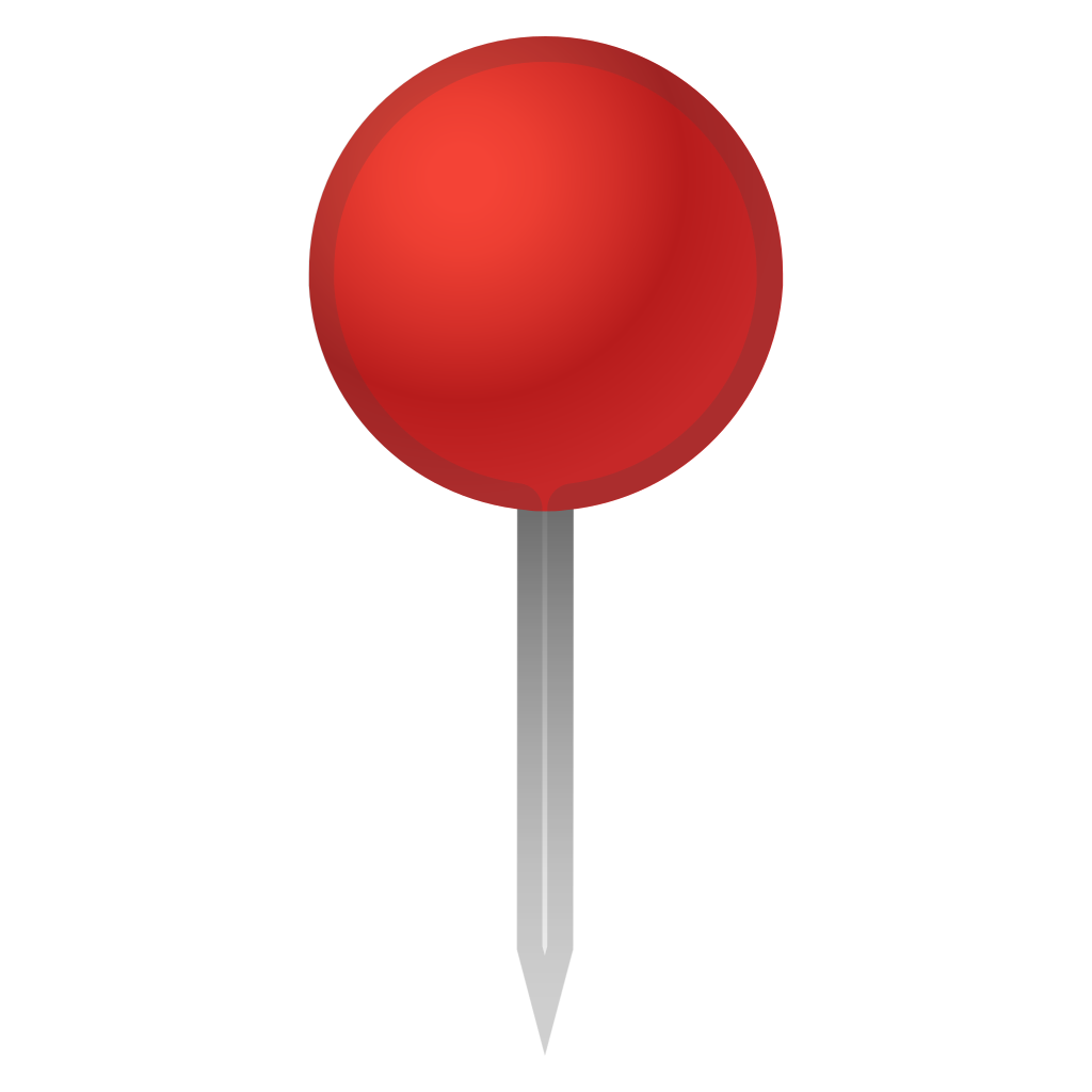 Push pin icon png. Round pushpin noto emoji