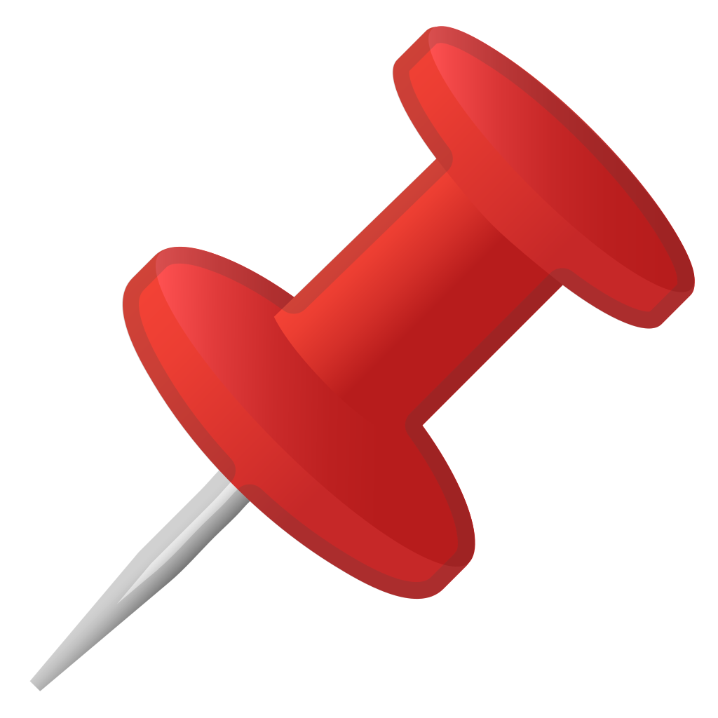 Push pin icon png. Pushpin noto emoji objects