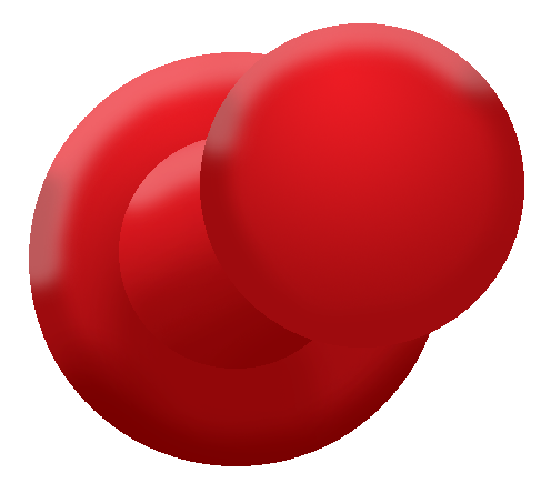Push pin png. Red by bloodywilliam on