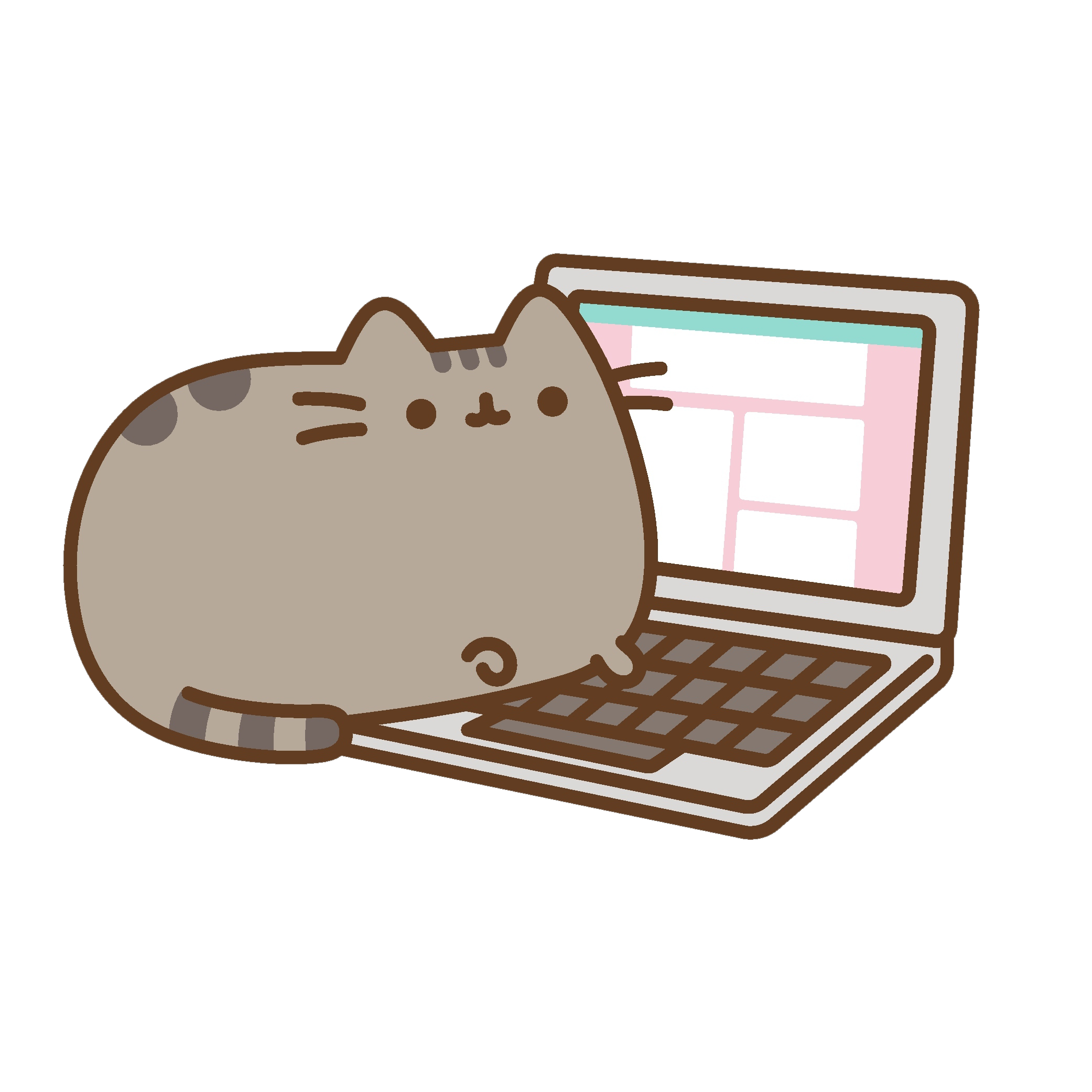 Pusheen vector computer. Gifs get the best