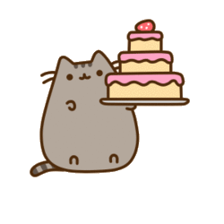 Pusheen heart png. Tumblr uploaded by aine
