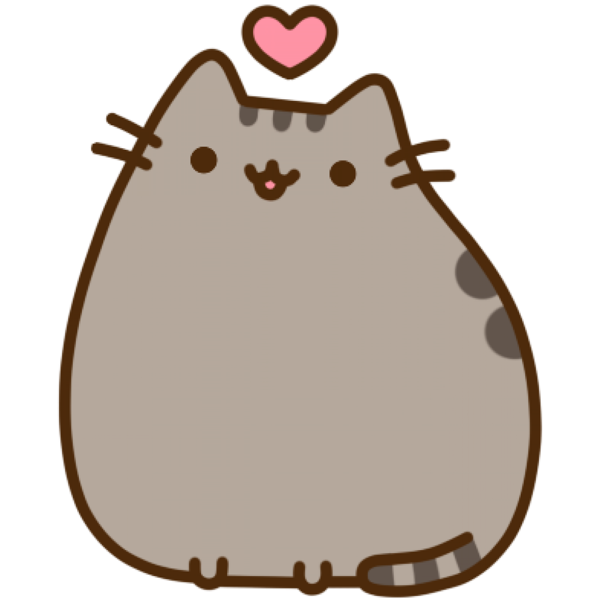 Pusheen heart png. Love by yuyuy thingiverse