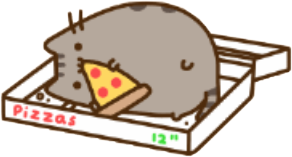 Pusheen pizza png. Is life freetoedit report