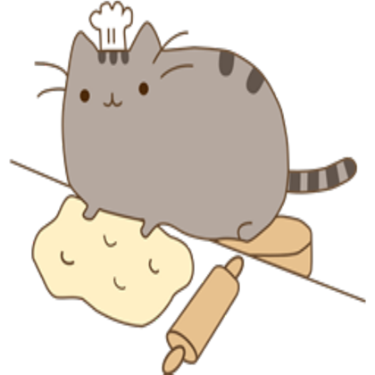 Pusheen pizza png. Roblox