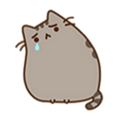 Pusheen png. Transparent images stickpng crying