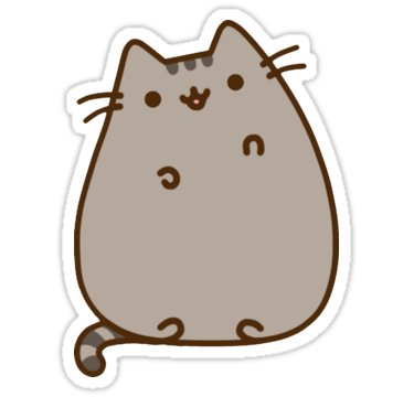 Pusheen stickers png. By boese redbubble pinterest