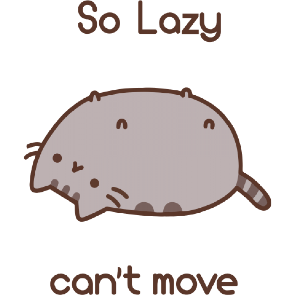 Pusheen the cat png. Your days off from