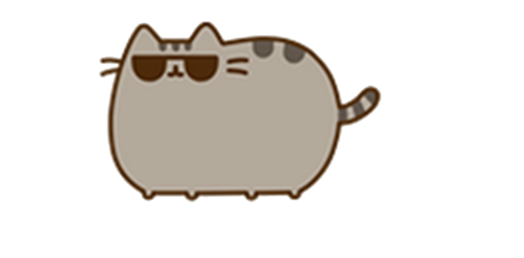Pusheen computer png. Gato by vaniiina on